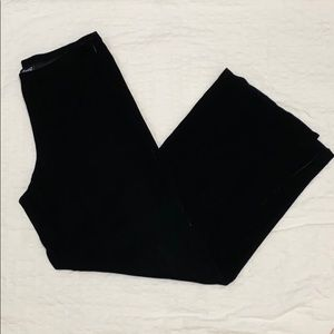 Eileen Fisher Wide Leg Velvet Pants